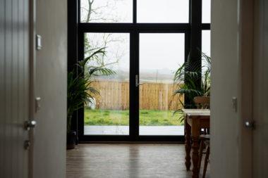 Borrowstone Bothy Balcony Door