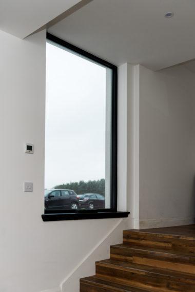 Borrowstone Bothy 19 Window Close Up