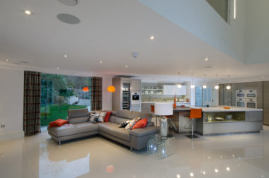 Large Modern Living Area