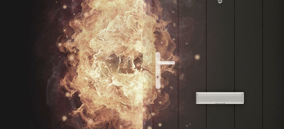 Nordan Secure Door Fire