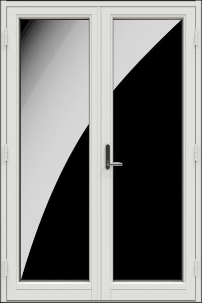 Double Door Glass 0002