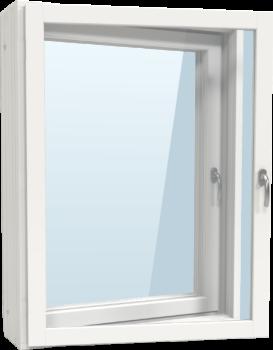 Kvillsfors dubbelfönster utangångjärn